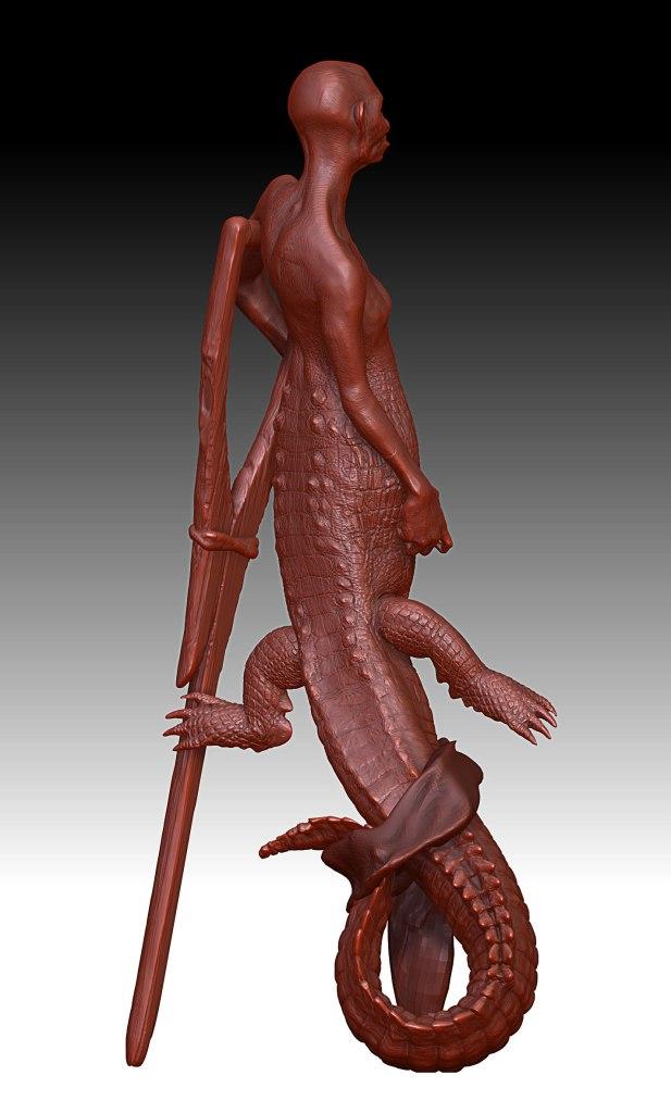 Alligator---Posed
